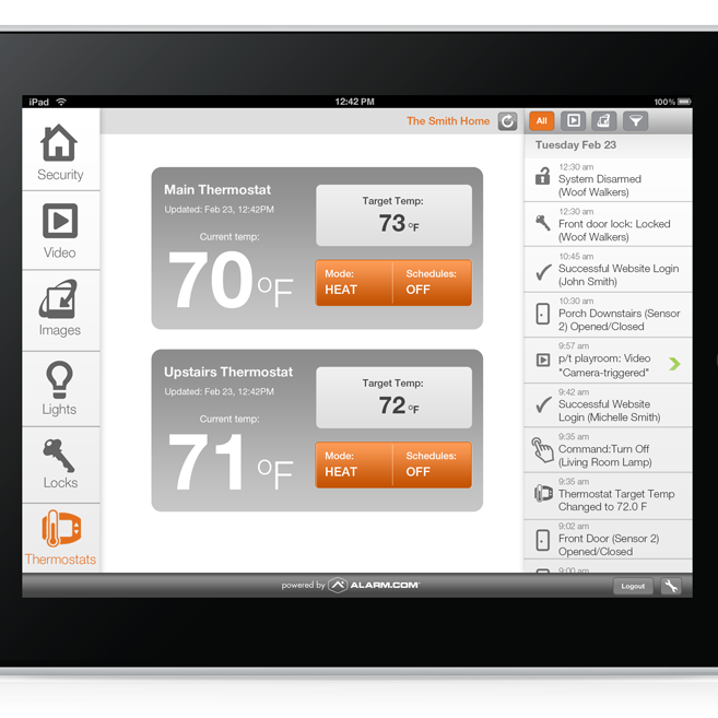 Pinnacle Security Home Security Systems Page